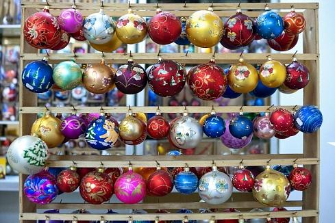 Экскурсия в Карачев на фабрику ёлочных игрушек